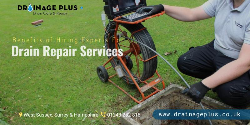 Drainage Repair In Surrey