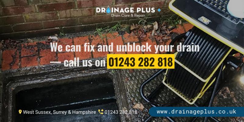 blocked drain drainageplus