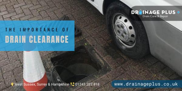 drain repair Surrey
