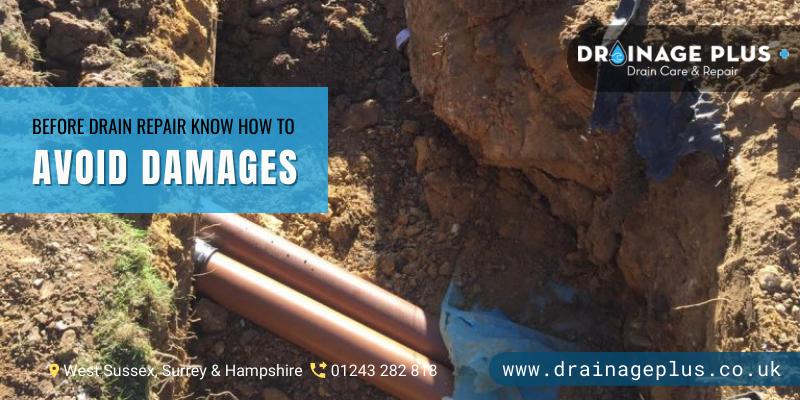 drain repair Horsham