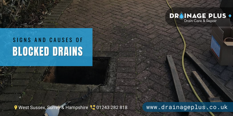 Blocked Drains Crawley